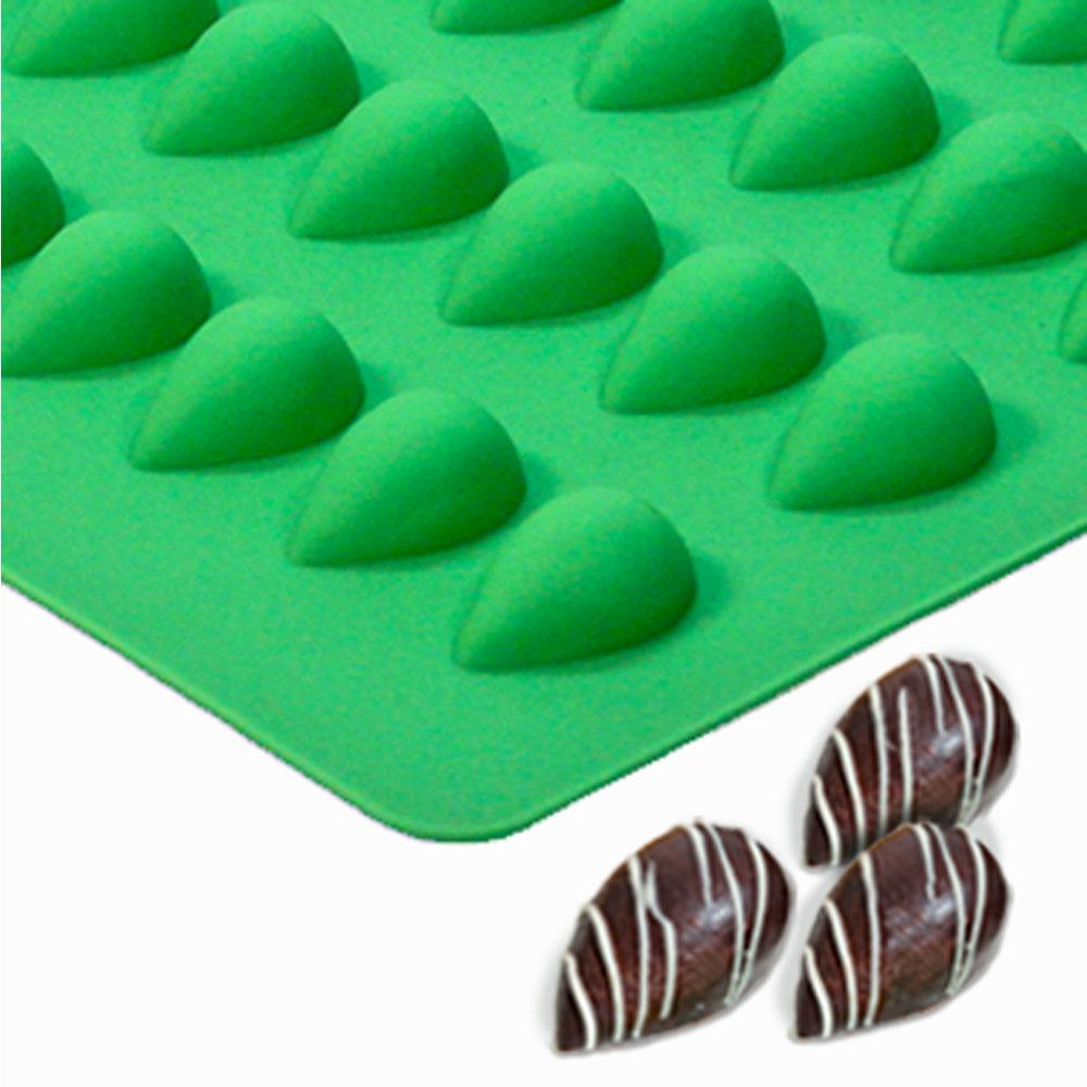 Teardrop Candy molds | Truffly Made - Chocolate Molds