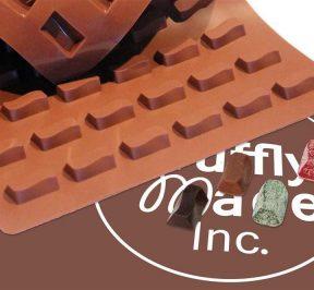 Wave Truffle Molds