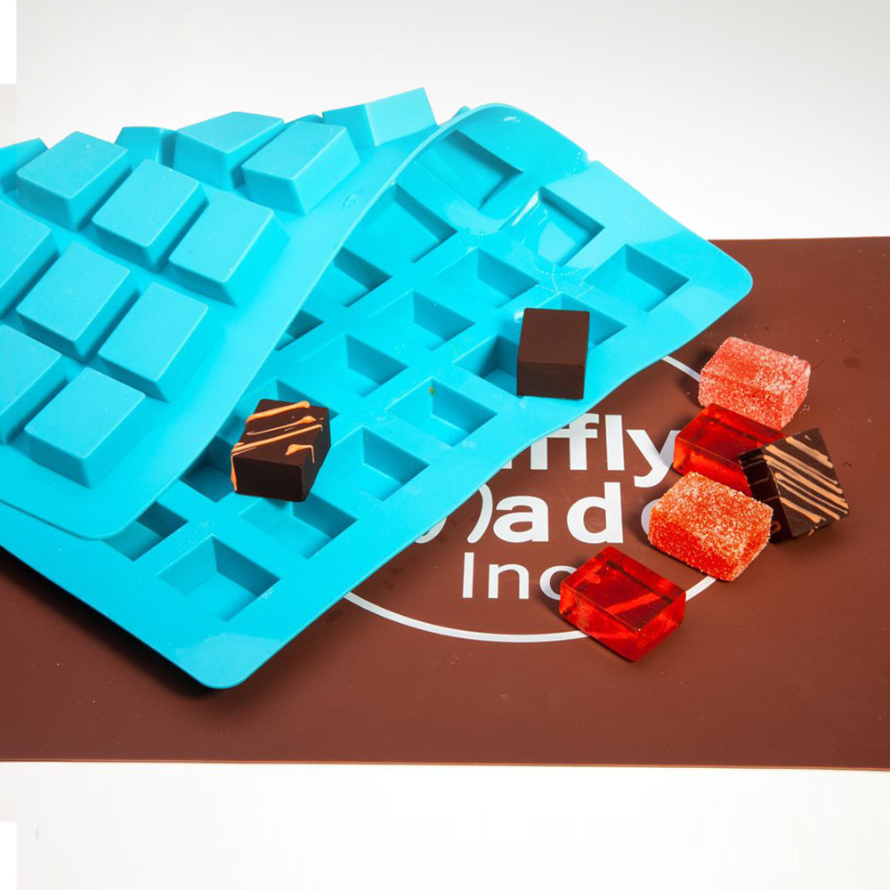 Chocolate Cube Mold (24g) | Truffly Made - Chocolate Molds
