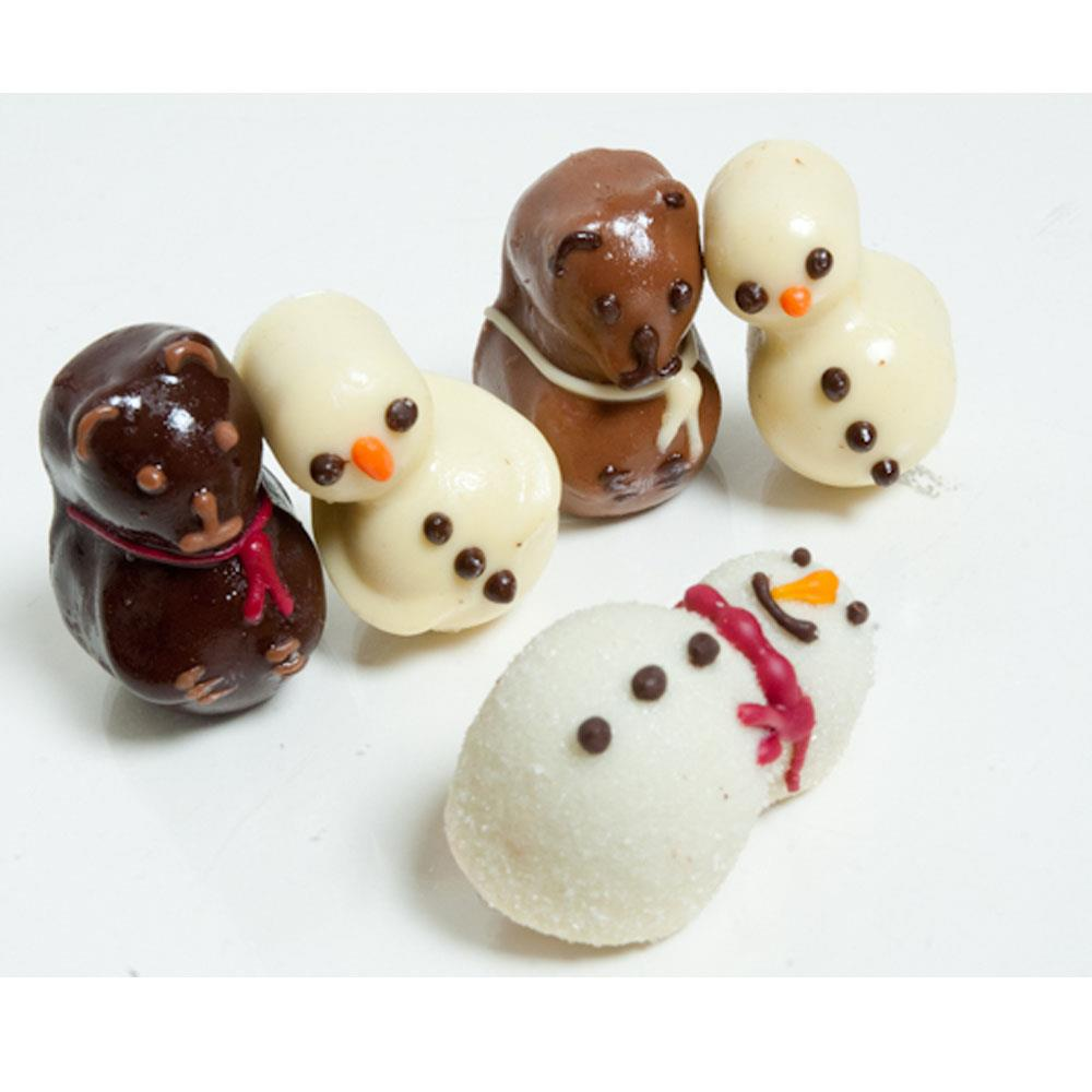 Snowman Chocolate Mold (16g) | Truffly Made - Chocolate Molds
